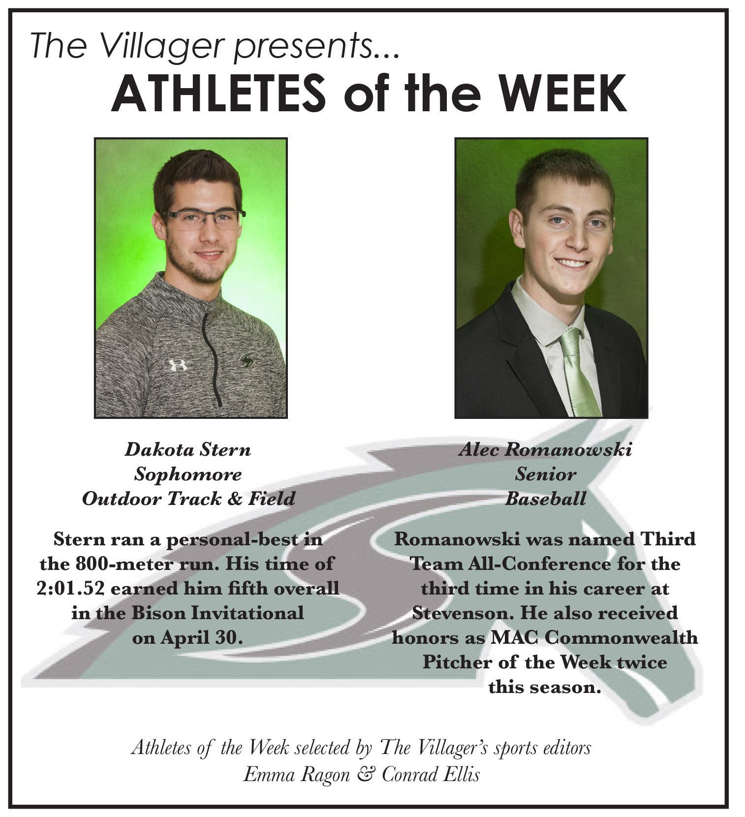 Athletes of the Week May 4