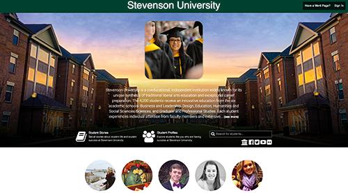 Merit Pages recognizes student achievements (Photo from stevenson.meritpages.com)