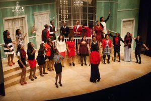 Black Student Union choir's performane last year at Gospel Night. (Photo from SU Flickr).