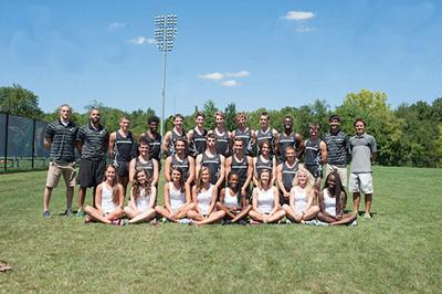 SU men's and women's cross country teams