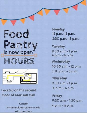 Food pantry serves as new resource Stevenson Villager