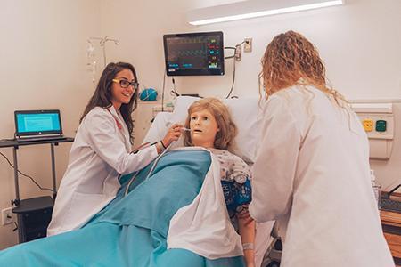 Nursing students learn in Simulation Labs | Stevenson Villager
